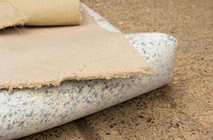 Carpet Underlay Llanelli UK - Underlay Installation